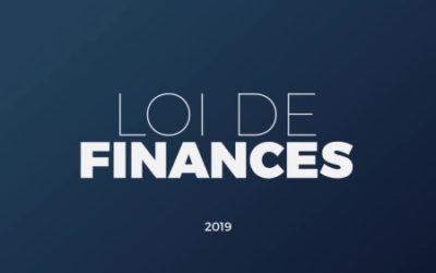 Actualité fiscale – Loi de finances 2019